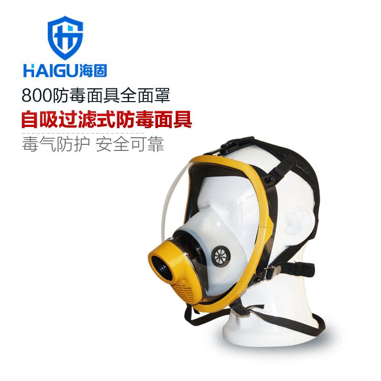 海固HG800球型大视野防毒口罩全面罩