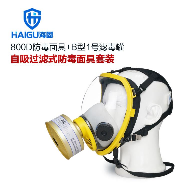 海固800D防毒面具
