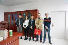 海固王总会见台湾客户